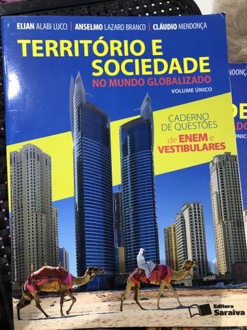 Livro - Território e Sociedade no Mundo Globalizado - Foto 3