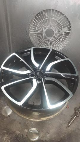 Rodas aro 22 com pneus - Foto 4