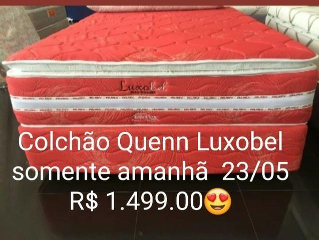 Somente Hoje Mega Promoção Colchão De Molas Ensacadas Luxobel Queen (158x198)