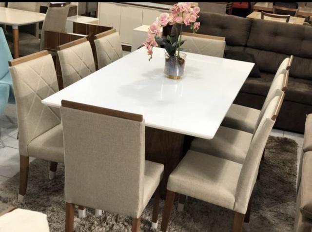 Mesa sala copa e cozinha nova completa - Foto 4