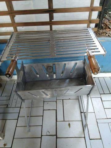 Churrasqueira de alumínio a partir de 125 reais - Foto 4