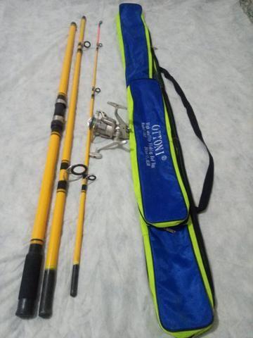 Kit de pesca de praia
