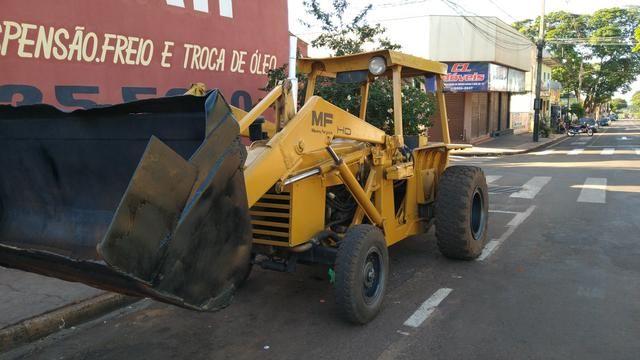 Trator Pá Carregadeira Massey Ferguson 86 - Foto 3