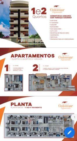 Oportunidade, Apartamento de 1Q 75 mil 2Q 175mil cobertura 250 mil - Foto 2
