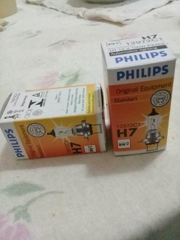 Lâmpada H7 forte 100w aceito cartão - Foto 4