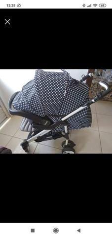 Bebê conforto e carrinho - Foto 2