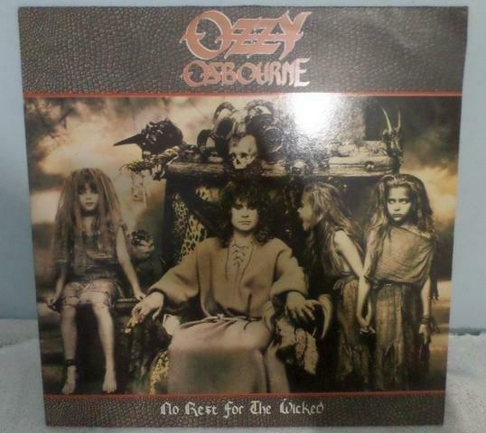 Lp do Ozzy Osbourne - No Rest For The Wicked