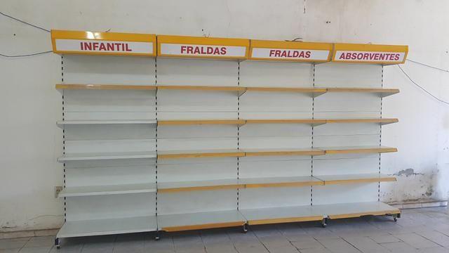 GÔNDOLA PAREDE COM ILUMINAÇÃO  - Foto 2