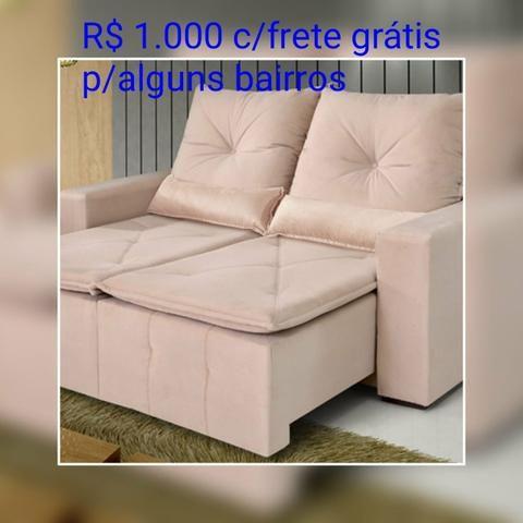 SOFÁ Retratil e reclinável Bahia/ Frete Grátis para maioria dos bairros. - Foto 5