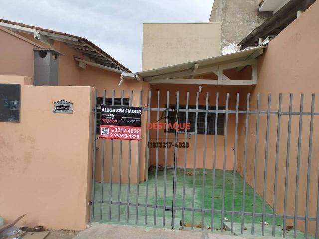 Edicula mobiliada para alugar, 45 m² por R$ 800,00/mês - Cidade Univrsitaria- Presidente P