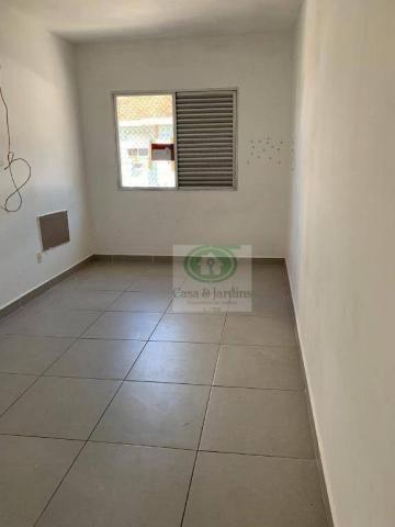 Ótimo apartamento de frente 03 dormitórios. GARAGEM FECHADA - Santos - Foto 3