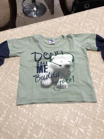 Kit 3 camisetas Tam 2 - Foto 6