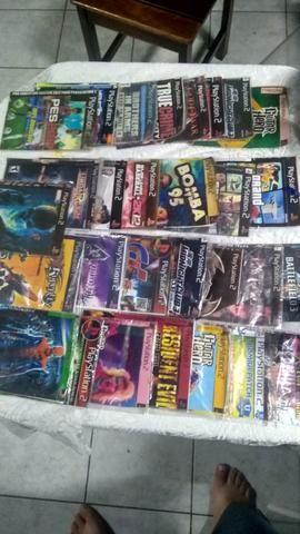 29 jogos PS2 - R$ 50,00