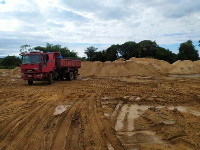 Areia lavada, Grossa, Média, Fina. * - Foto 3