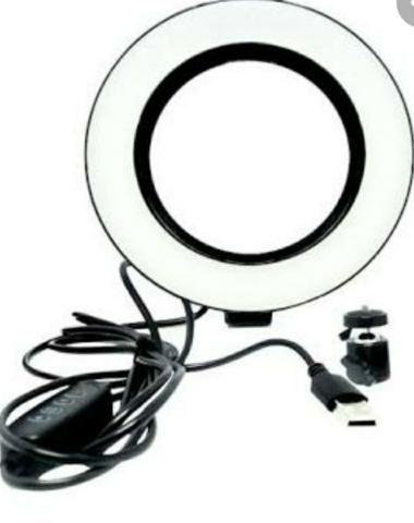 Luz Iluminador Ring Light 6 Polegadas Kp-pl16 Knup 72 Led - Foto 5