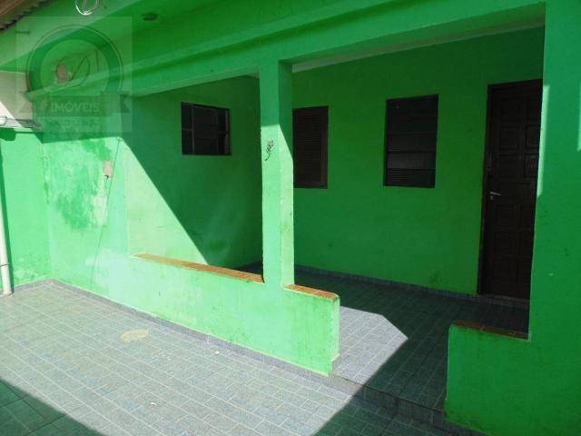 Casa com 1 dormitório para alugar, 50 m² por R$ 430,00/mês - Jardim Santa Izabel - Hortolâ