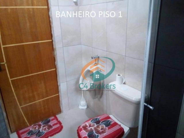 Sobrado com 3 dormitórios à venda, 120 m² por R$ 220.000,00 - Jardim Oliveira II - Guarulh - Foto 5