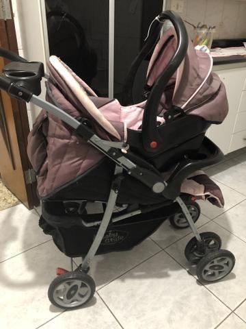 Carrinho de bebê ( menina) baby style - Foto 3