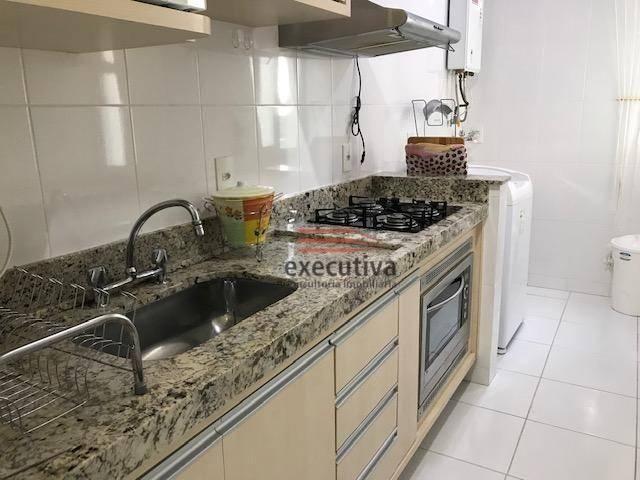 Apartamento com 1 dormitório para alugar, 57 m² por R$ 1.850,00/mês - Jardim das Colinas - - Foto 18