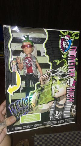 Boneco monster high Deuce gorgon,ghouls alive,sem bateria,funcionando