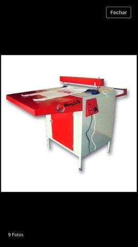Máquina de fabricar sacola
