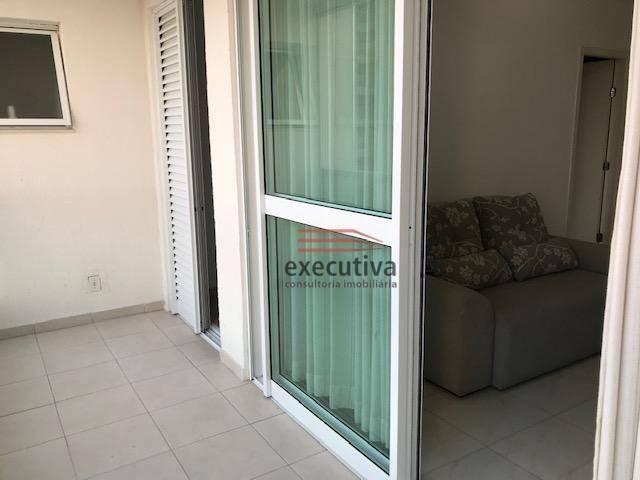 Apartamento com 1 dormitório para alugar, 57 m² por R$ 1.850,00/mês - Jardim das Colinas - - Foto 6