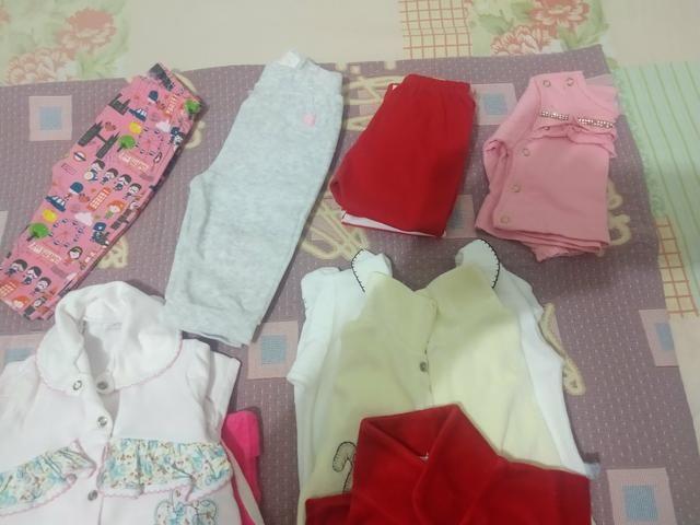 Aceito proposta . Lote de roupa menina 24 pçs - Foto 5