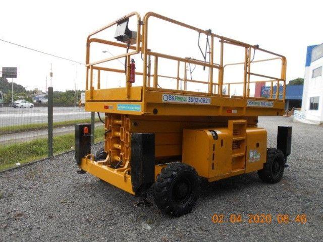 Plataforma Tesoura Diesel 2012 HA15SX Haulotte - AFI 3000452 - #7078 - Foto 4