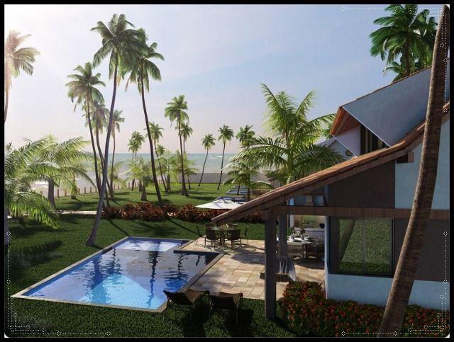 GN- Casa duplex na praia do Cupe, 4 quartos, piscina privativa, varanda gourmet - Foto 10