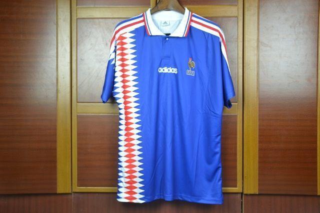 Camisas França Retrô Diversas Copas, Euro, jogadores históricos - Foto 3