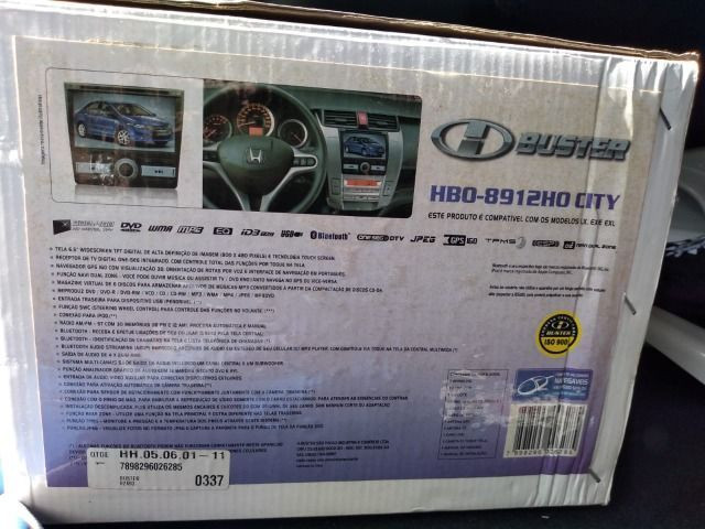 Dvd automotivo, marca Buster, para Honda - Foto 2