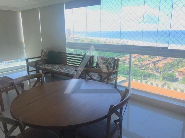 Apartamento mobiliado, nascente, andar alto 4 quartos em Patamares/Salvador-BA - Foto 5
