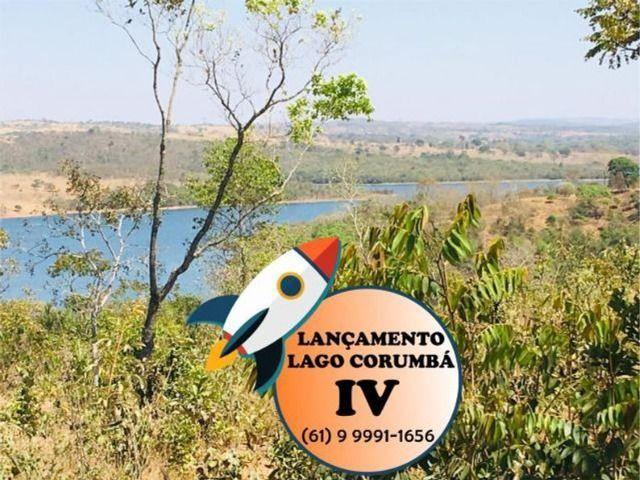 Parcelas de 399 lotes planos / lago / Corumba iv - Foto 8