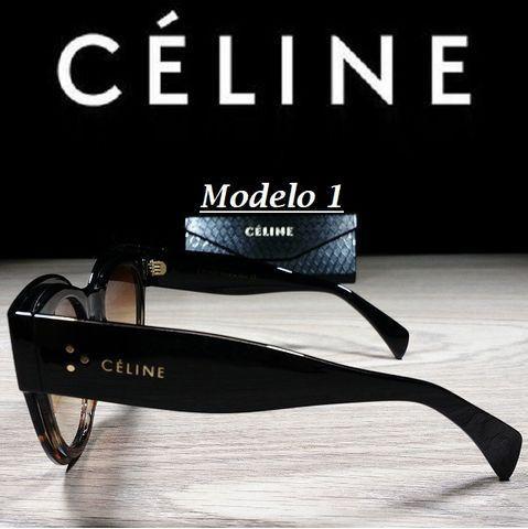 Óculos Feminino Céline Petra Redondo CL41447 com Proteção UV - Foto 2