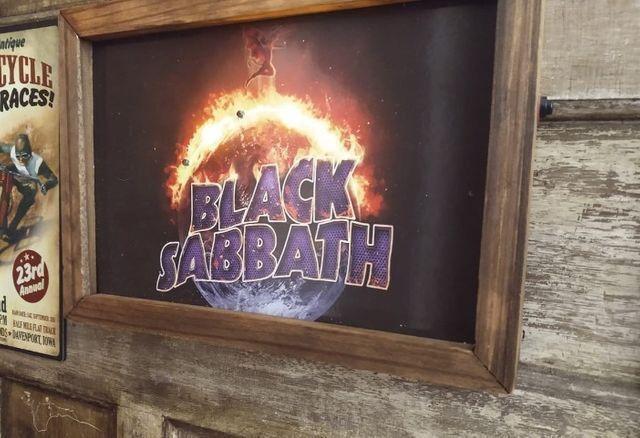 Quadro LED Black Sabbath