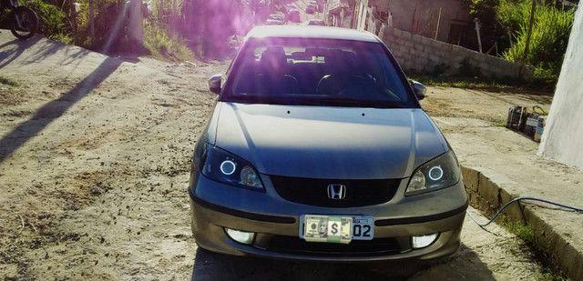 Honda Civic 04/05 lxl 1.7L Automático Geração 7 Completo com GNV - Foto 9