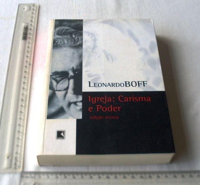 Livro Religioso - Igreja: Carisma e Poder - Leonardo Boff - 2005 - Foto 3