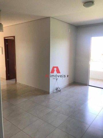 Apartamento com 3 dormitórios para alugar, 86 m² por R$ 1.600,00/mês - Jardim Tropical - R