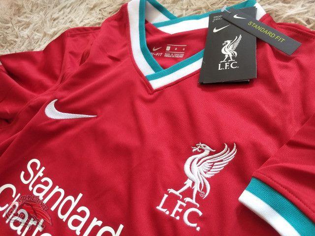 Camisa Liverpool 1 2020/2021 - Foto 2