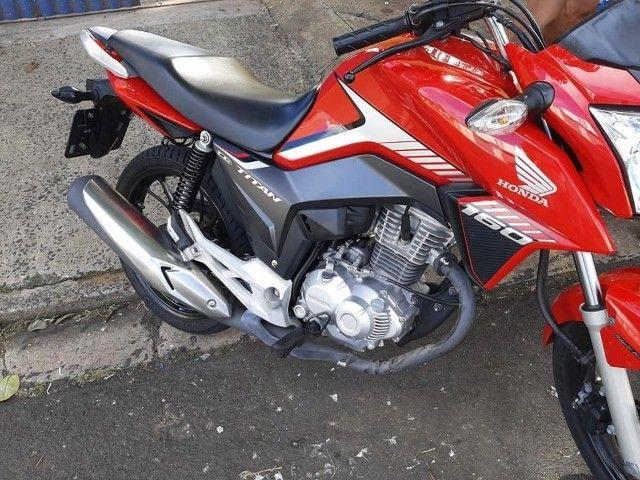 Titan 160cc Vermelha Promoção - Foto 4