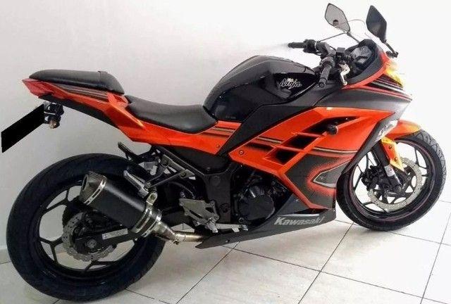 Kawasaki Ninja 300 abs 2014- Único Dono- Parcelas Baratas- Ipva Pago  - Foto 2