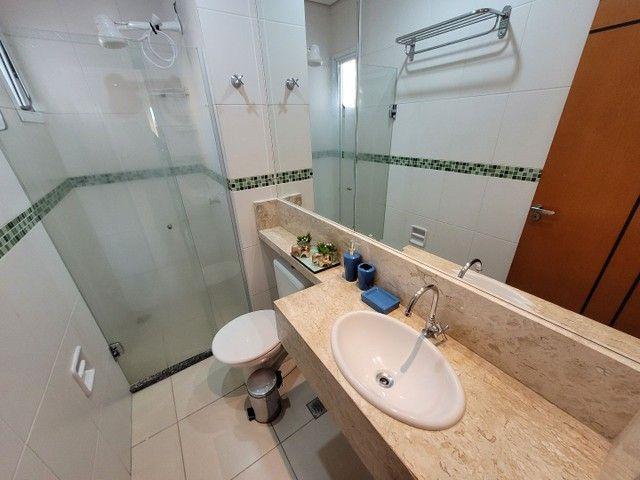 Apartamento mobiliado de TEMPORADA NOVINHO bem localizado em Cuiabá - Foto 2