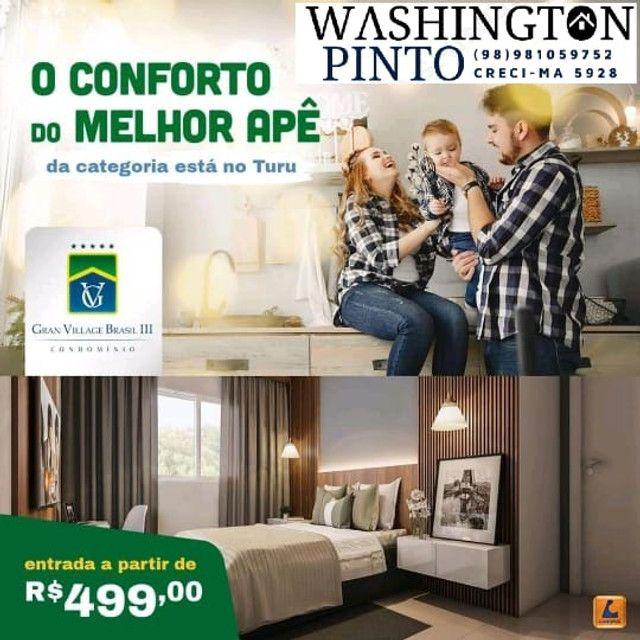 86/ Gran Village Brasil 3, aptos de 57m2 com suite