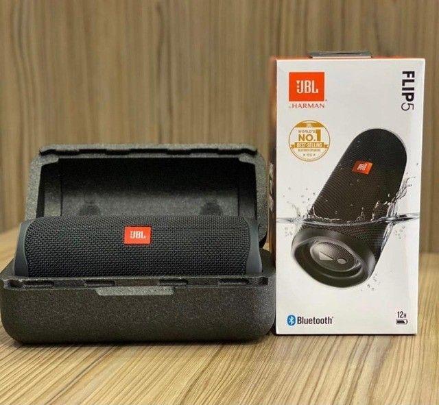 Caixa de Som Portátil JBL Flip 5 - À prova D`Água - Bluetooth - 20W - Foto 2