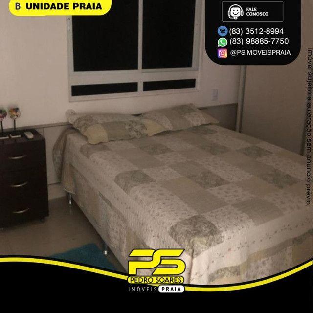 Apartamento com 1 dormitório para alugar, 40 m² por R$ 2.200/mês - Tambaú - João Pessoa/PB - Foto 5