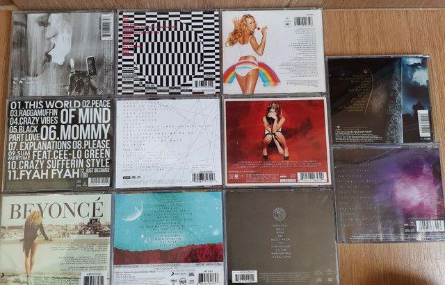 [CDs ORIGINAIS] RIHANNA, BEYONCÉ, KESHA, LADY GAGA, EVANESCENCE, MARIAH CAREY, FERGIE - Foto 2