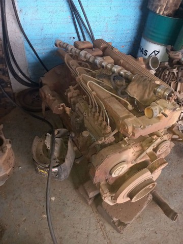 Motor  mwm X 10