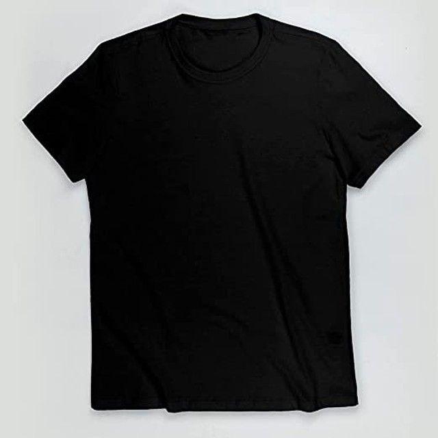 Camisetas Masculinas Básicas Algodão