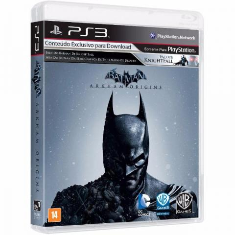Jogo Batman Arkham Origins Português Playstation 3