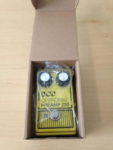Pedal Overdrive Dod Preamp 250